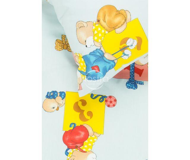 Bērnu katūna gultas veļa LITTLE BEARS & FRIENDS