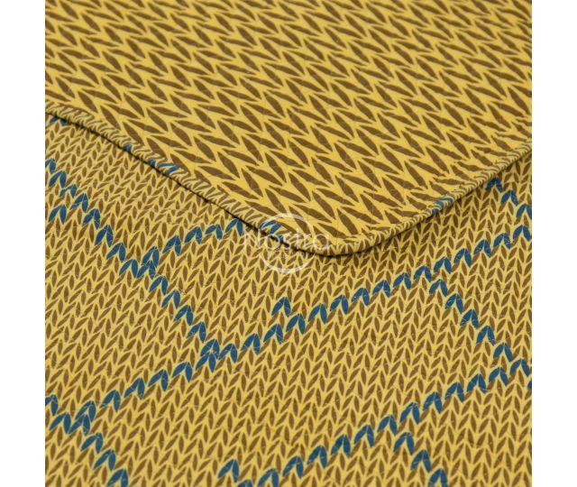 Izšūts gultas pārvalks L0023-GOLD
