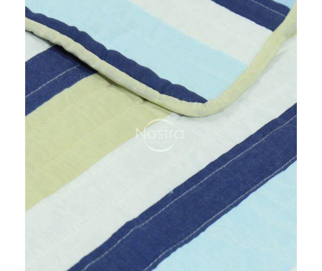 Izšūts gultas pārvalks L0020-BLUE