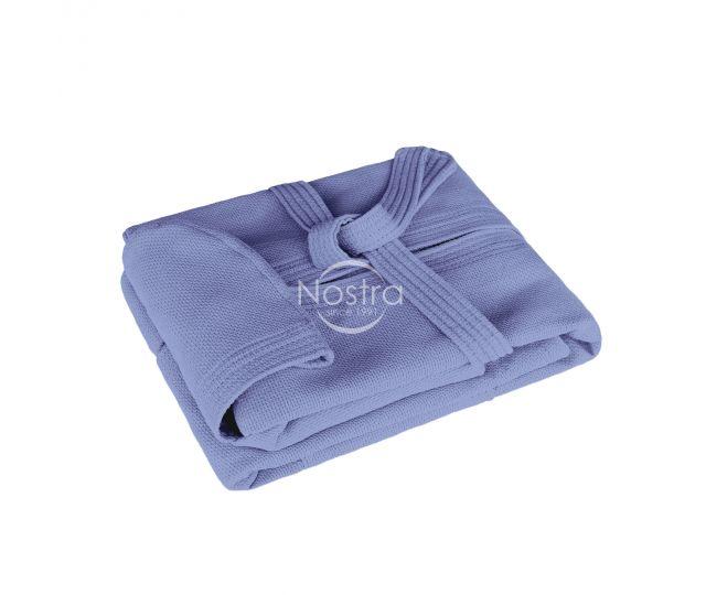 Halāts PIQUE ar kapuci 380 BATHROBE-STONE BLUE