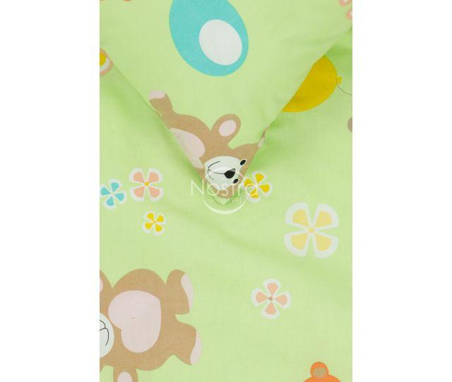 Bērnu katūna gultas veļa BEAR & BALLOON