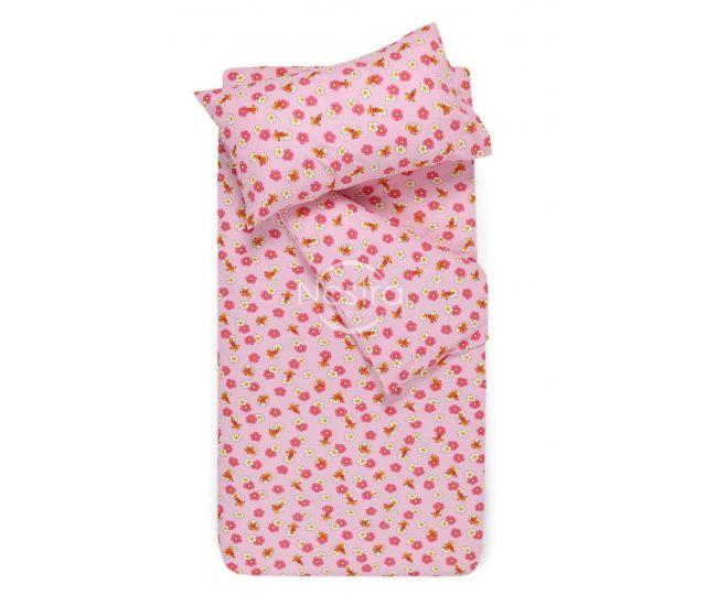 Bērnu flaneļa gultas veļa LITTLE BEES