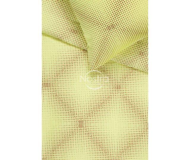 Mako satīna gultas veļa CAROLINE 30-0450-YELLOW 200x220, 50x70 cm