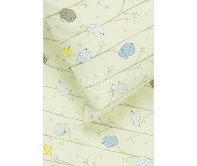 Bērnu katūna gultas veļa BIRDS