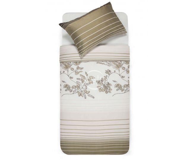 Satīna gultas veļa AGOTI 40-0884-BROWN 200x220, 70x70 cm