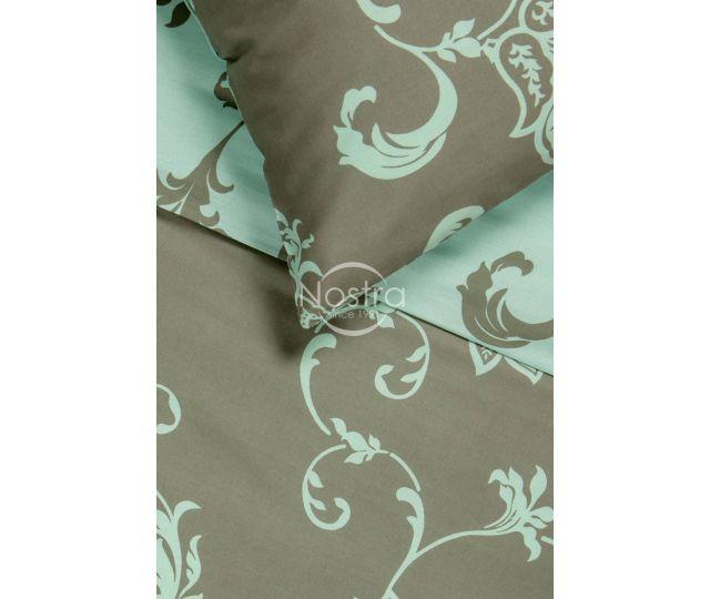 Satīna gultas veļa AVA 20-1448-TAUPE/MINT