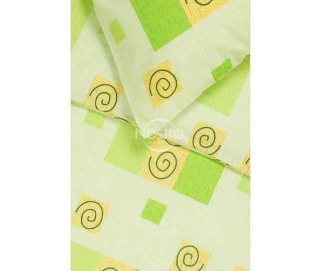 Kokvilnas gultas veļa DRAGANA 30-0039-GREEN