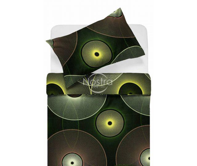 Satīna gultas veļa ADELITA 30-0285-GR.YELLOW 200x220, 70x70 cm