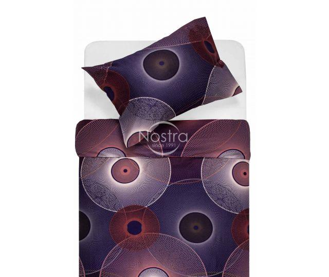 Satīna gultas veļa ADELITA 30-0285-PURPLE 200x220, 70x70 cm