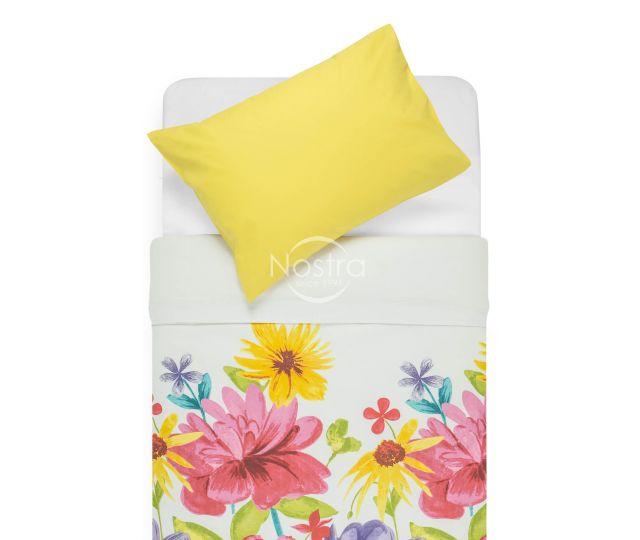 Kokvilnas gultas veļa DORYS 20-1338/00-0009-MULTI/SUN YELLOW