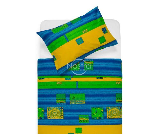Kokvilnas gultas veļa DIZZY 40-0098-BLUE