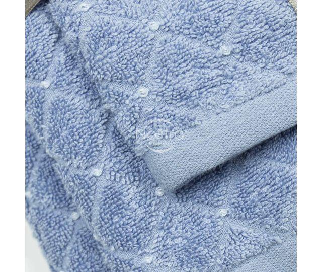 3 daļu dvieļu komplekts T0107 T0107-SOFT BLUE