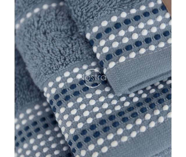 3 daļu dvieļu komplekts T0044 T0044-STONE BLUE
