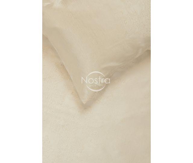 Mākslīgās zīda gultas veļa OPHELIA 80-0018-CREAM