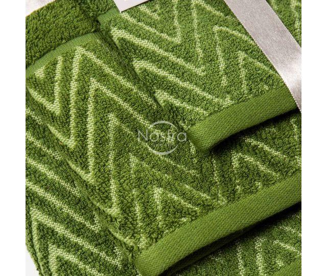 3 daļu dvieļu komplekts T0108 T0108-MOSS GREEN