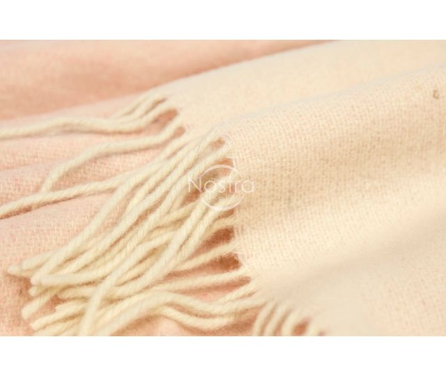 Pleds ANDORA DOUBLE FACE-L.PINK WHITE