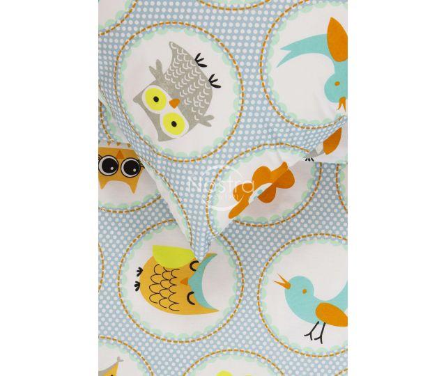 Bērnu katūna gultas veļa HAPPY OWL