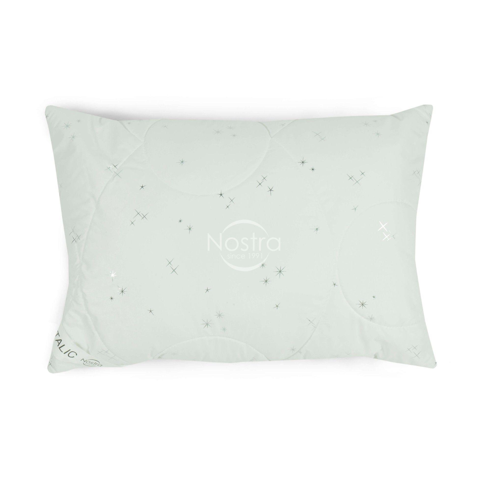 Spilvens METALIC 70-0021-WHITE/SILVER 50x70 cm
