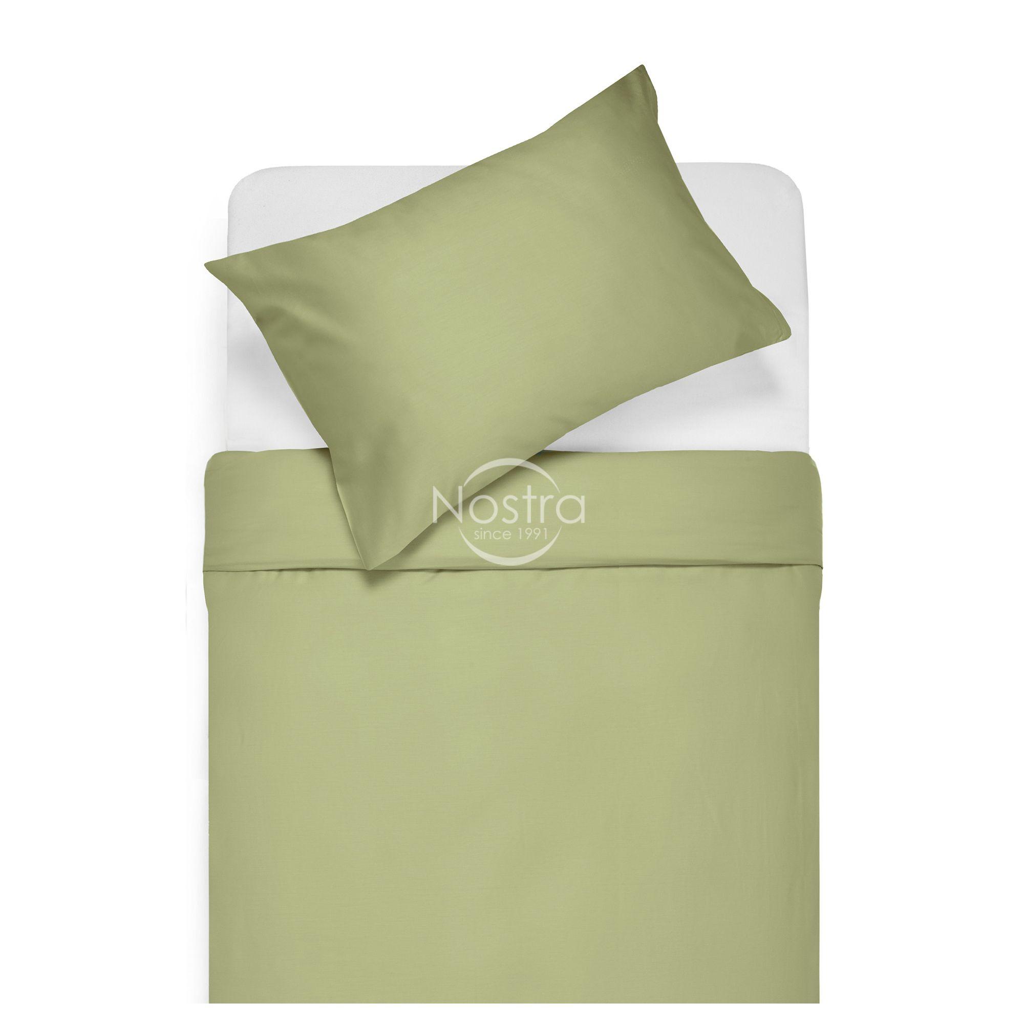 Satīna gultas veļa ADELA 00-0188-PALE OLIVE