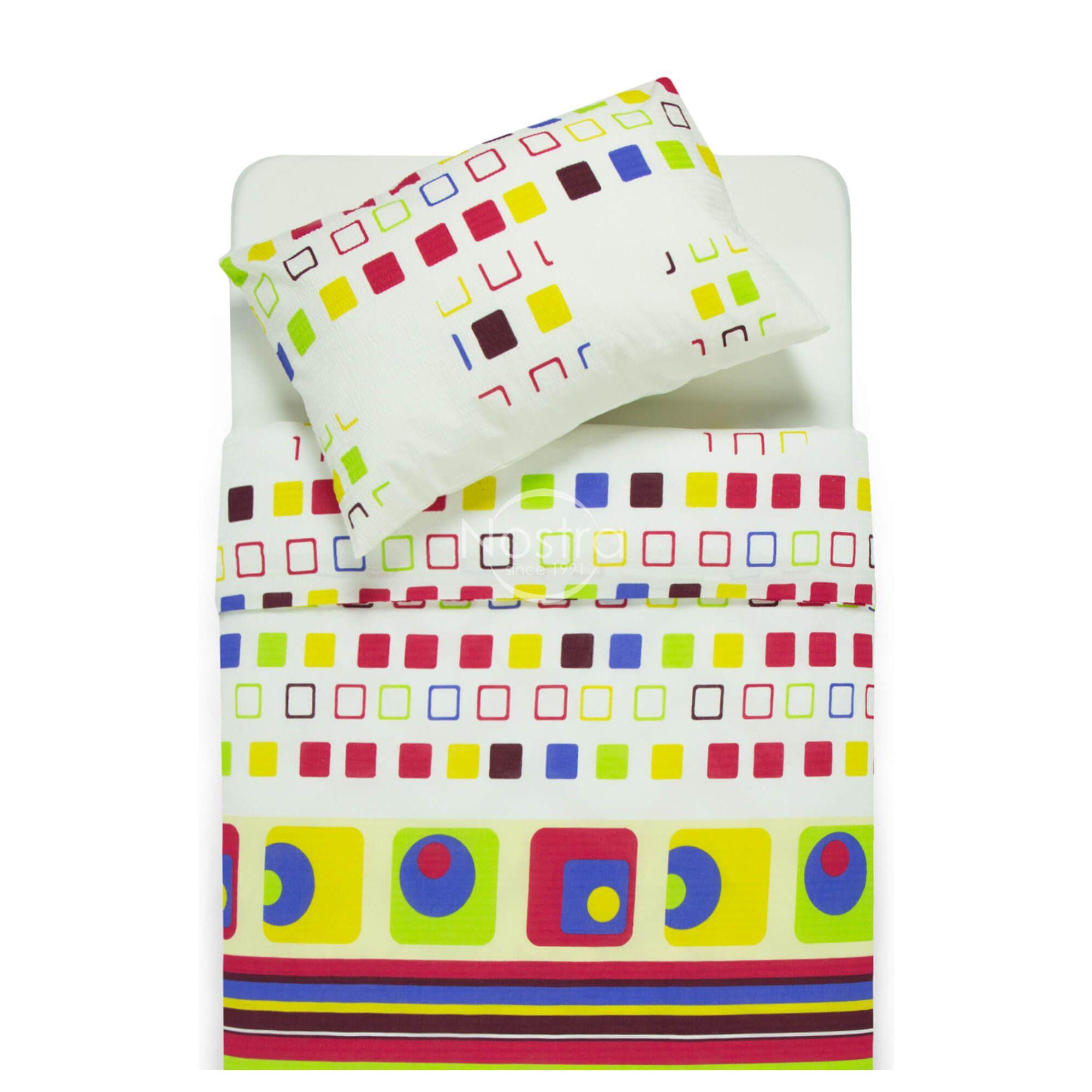 Burzīta gultas veļa IZPĀRDOŠANA 30-0115-GREEN