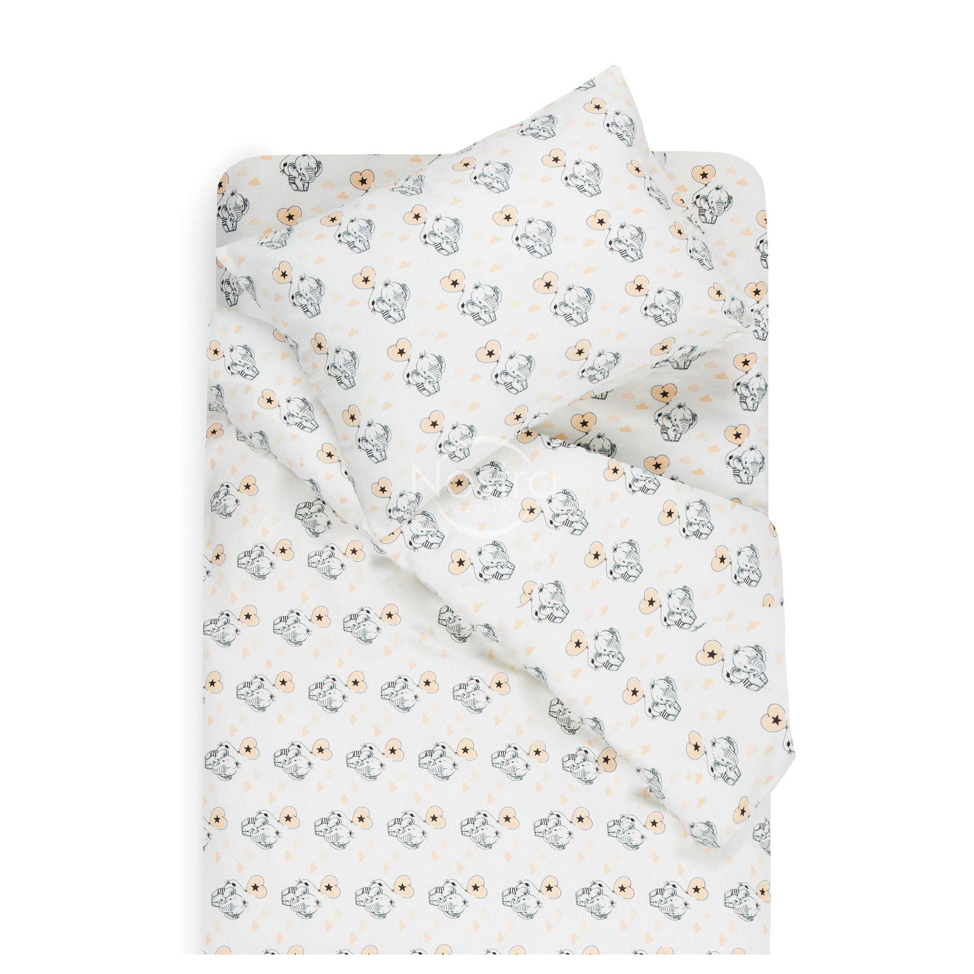 Bērnu flaneļa gultas veļa BABY ELEPHANT