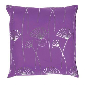 Pillow METALIC 70-0017-VIOLET/SILVER