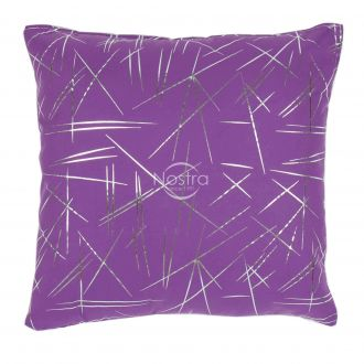 Pillow METALIC 70-0018-VIOLET/SILVER