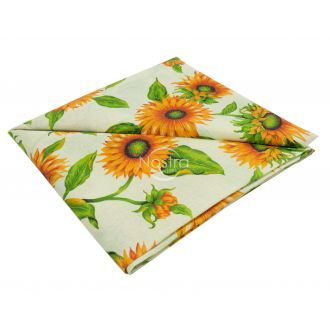 Cotton tablecloth 40-0327-SAFFRON