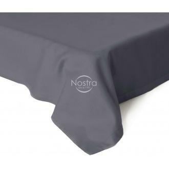 Flat sateen sheets 00-0240-IRON GREY