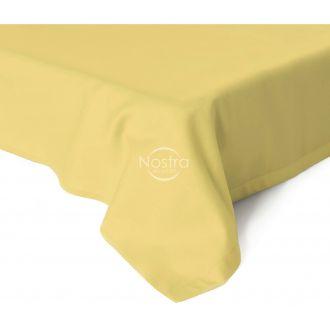 Flat sateen sheets 00-0016-PALE BANAN