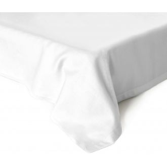 Flat sateen sheets 00-0000-OPT.WHITE
