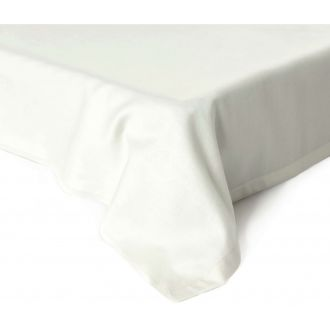 Flat sateen sheets 00-0001-OFF WHITE