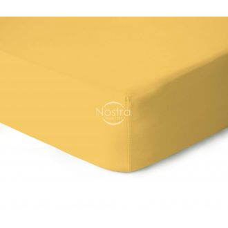 Fitted jersey sheets JERSEY-SUN YELLOW
