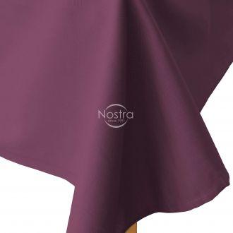 Flat cotton sheet 00-0221-DARK PLUM