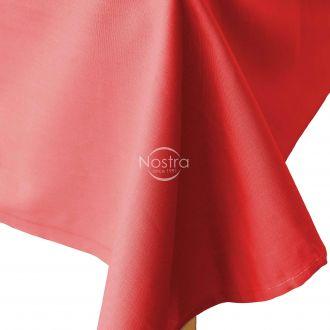 Flat cotton sheet 00-0062-X-MAS RED