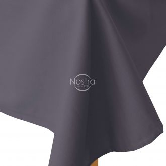 Flat cotton sheet 00-0240-IRON GREY