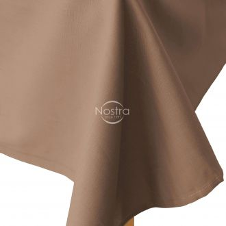Flat cotton sheet 00-0235-PALM BROWN