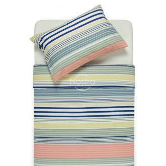 Seersucker bedding set ELIZABETH 30-0525-L.BLUE