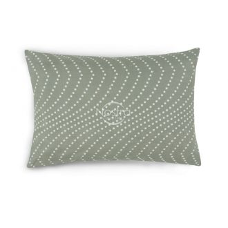 Flannel pillow cases with zipper 30-0508-GREY