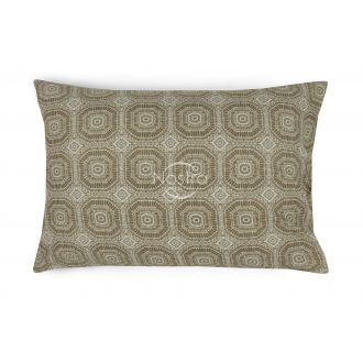 Flannel pillow cases with zipper 40-1044-L.CACAO
