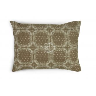 Flannel pillow cases with zipper 40-1045-CACAO