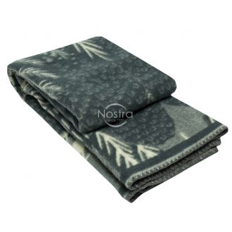 Blanket MERINO 80-3180-GREY