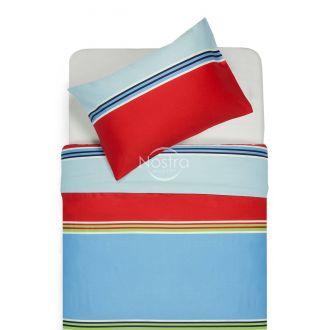 Satīna gultas veļa ADETTE 30-0428-BLUE