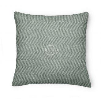 Decorative pillow case 80-3065-GREY+SILV
