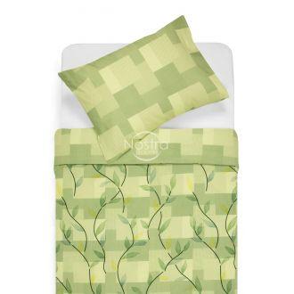 Kokvilnas gultas veļa DREW 30-0565/40-0376-GREEN