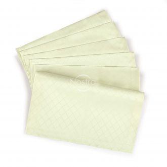 Jacquard sateen napkins, 6 pcs 80-0001-IVORY