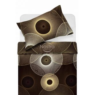Satīna gultas veļa ADELITA 30-0285-BROWN