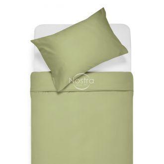 Sateen bedding set ADELA 00-0188-PALE OLIVE