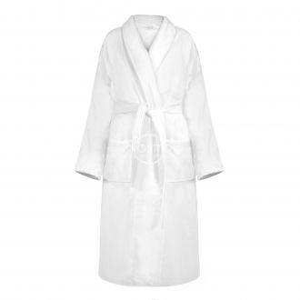 Халат VELOUR-420 420 BATHROBE-OPT.WHITE