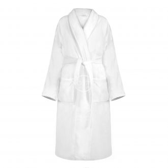 Halāts VELOUR-420 420 BATHROBE-OPT.WHITE
